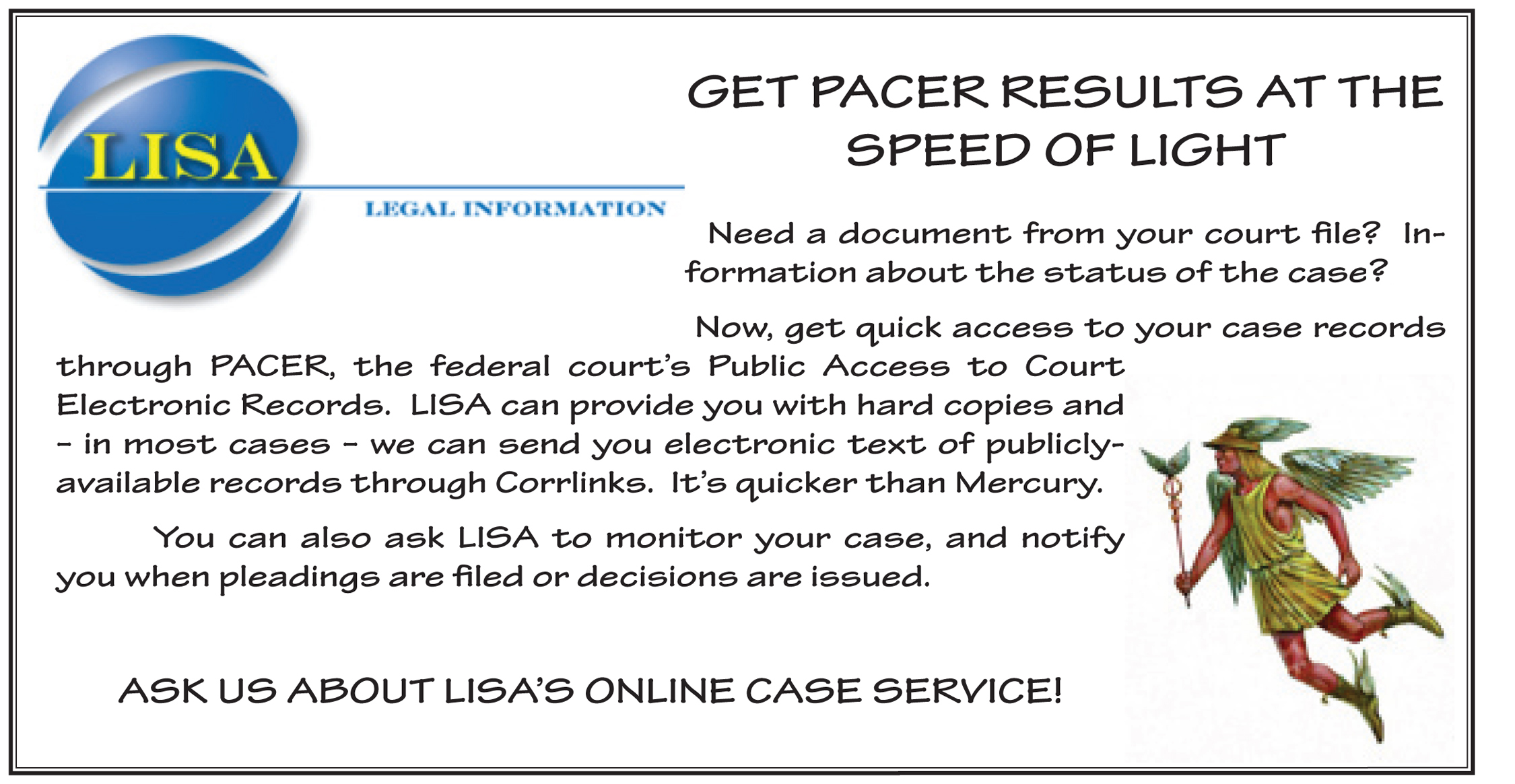 PACER ad