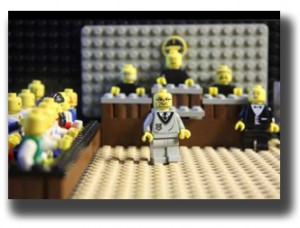 The Justices handed down the 7-2 decision on March 5, 2014 (Lego reenactment of actual Supreme Court proceeding).