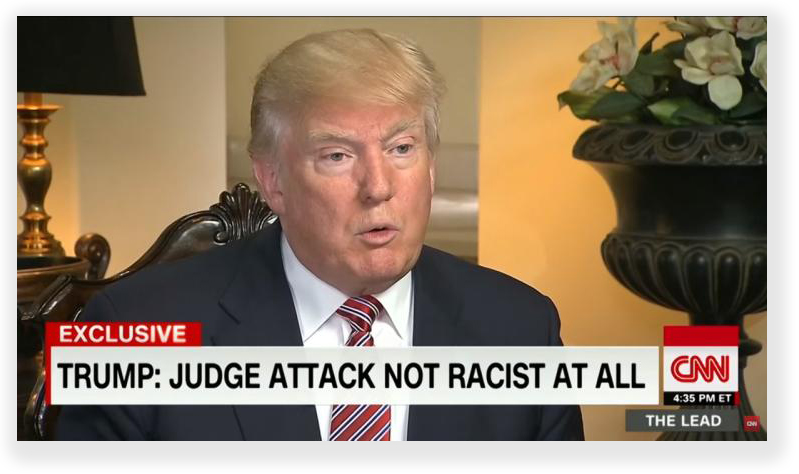 It hardly seems right - Trump slams a federal judge for bias, and he does;t get in trouble. Terry does the same, and gets a double sentence.