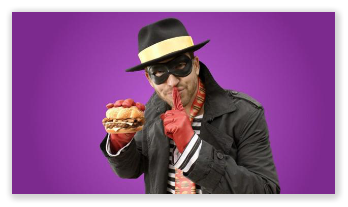"Stealing a burger is not an ACCA-qualified ""burger-lary."""