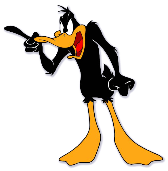 This is the real Daffy Duck. He has no connection to Jermaine's offense.