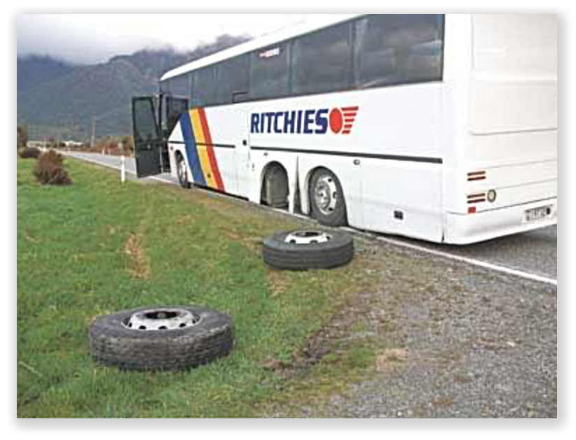 John had a sweet deal going... but then the wheels fell off the bus.