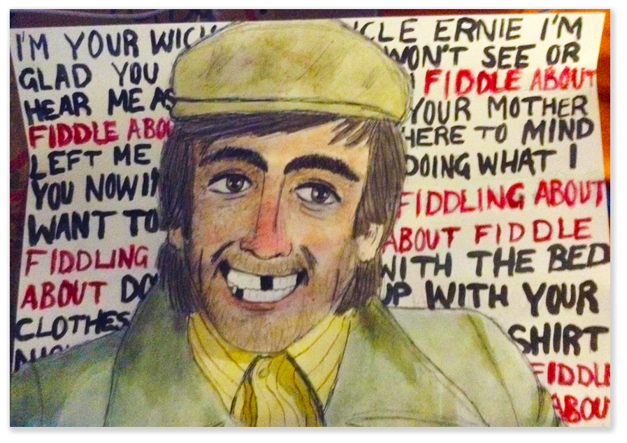 Uncle Ernie - an odious character in the Who's rock opera, Tommy.  There's a reason for the stereotype.