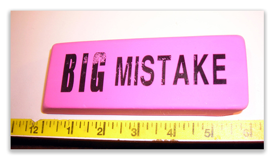 big mistake Making a mistake big enough to get you fired is a situation no one wants to be in, but knowing how to react could save you from losing your job here's what to do, if you ever find yourself in such an awful spot.